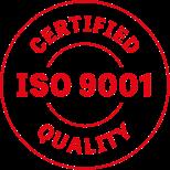 Zertifizierte ISO 9001 Qualität